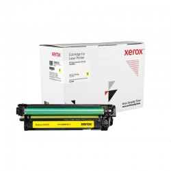 Cartouche de toner jaune Xerox Everyday pour imprimante Color LaserJet CP3525, CM3530