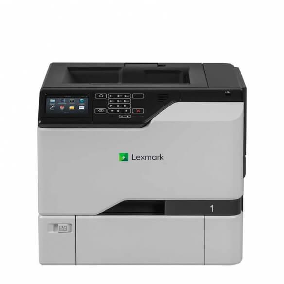 Imprimante laser couleur Lexmark CS728de - A4, recto-verso, wifi