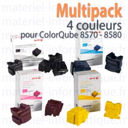 XEROX MultiPack 4 Couleurs pour ColorQube 8570/8580