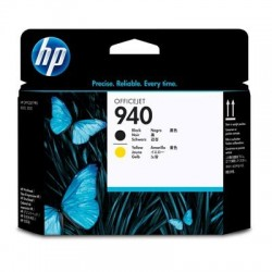 HP Tête d'impression Officejet noir et jaune HP940