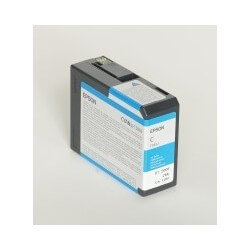 Epson T5802 - Cartouche d'encre Cyan