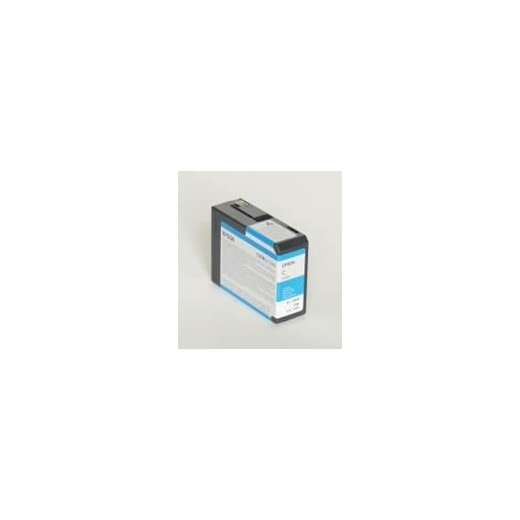 Consommable Epson T5802 - Cartouche d'encre Cyan