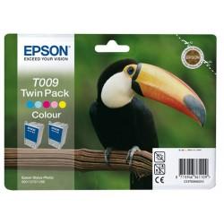 Epson T009 Double pack cartouche d'encre couleur