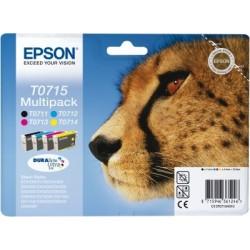 "Epson T0715 Multipack ""Guépard"""