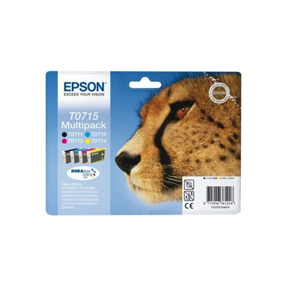 Consommable Epson T0715 Multipack 'Guépard'