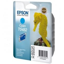 """Epson T0482 """"Hippocampe"""" - Cartouche d'encre Cyan 430 pages"""