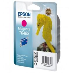 """Epson T0483 """"Hippocampe"""" - Cartouche d'encre Magenta 430 pages"""
