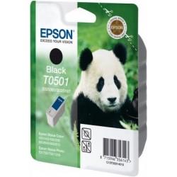 """Epson T0501 """"Panda"""" - Cartouche d'encre Noir 540 pages"""