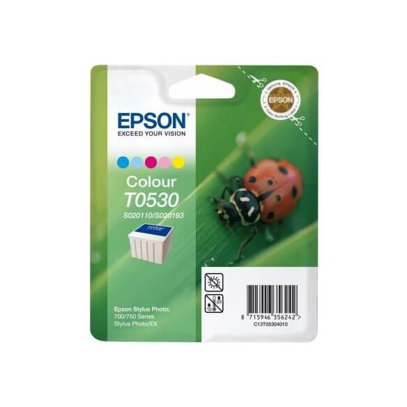 Consommable Epson T053 'Coccinelle' Pack Cartouche couleurs