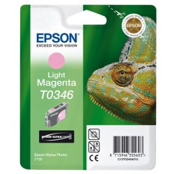 """Epson T0346 """"Caméléon"""" Cartouche d'encre pigmenté Magenta clair 440 pages"""