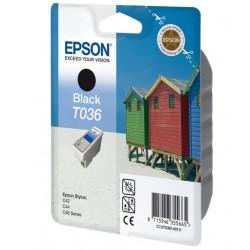 """Epson T0361 """"Plage"""" Cartouche d'encre Noir"""