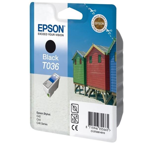 Consommable Epson T0361 'Plage' Cartouche d'encre Noir