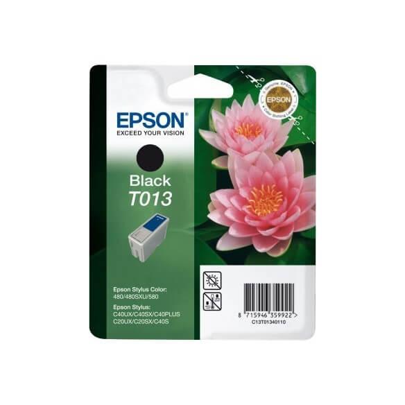 Consommable Epson T013 'Fleur' Cartouche d'encre noir