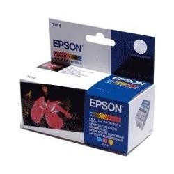 """Epson T014 """"Fleur"""" Pack cartouche d'encre couleur"""