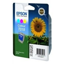 """Epson T018 """"Tournesol""""Pack cartouche d'encre couleur"""
