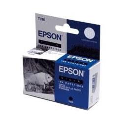 """Epson T026 """"Poisson"""" Cartouche d'encre noir"""