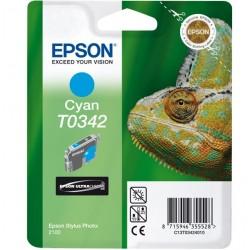 """Epson T0342 """"Caméléon"""" Cartouche d'encre Cyan"""