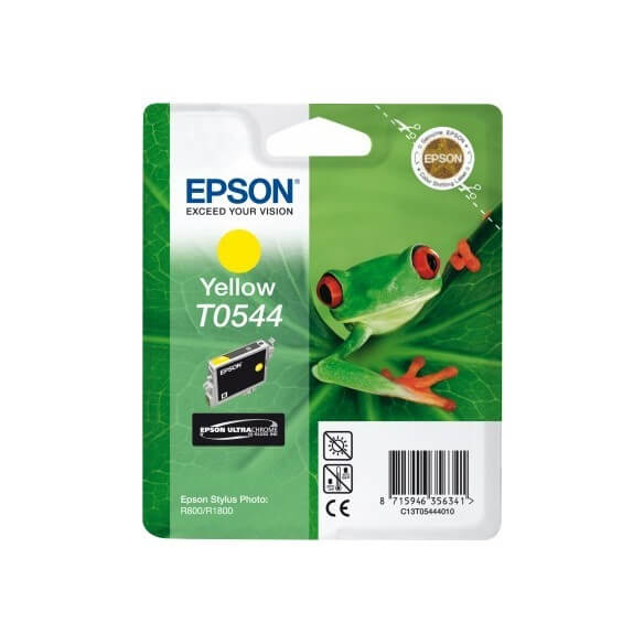 Consommable Epson T0544 'Grenouille' - Encre UltraChrome Hi-Gloss J