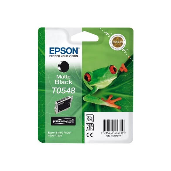 Consommable Epson T0548 'Grenouille' - Encre UltraChrome Hi-Gloss Nm