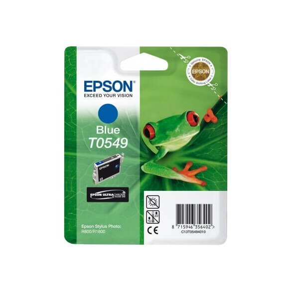 Consommable Epson T0546 'Grenouille' - Encre UltraChrome Hi-Gloss B