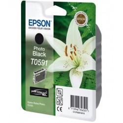"""Epson T0591 """"Lys"""" Cartouche d'encre noir"""