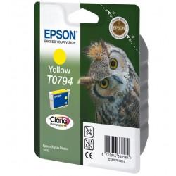 """Epson T0794 """"Chouette"""" Cartouche d'encre Jaune"""