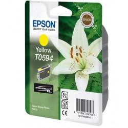 """Epson T0594 """"Lys"""" Cartouche d'encre Jaune"""