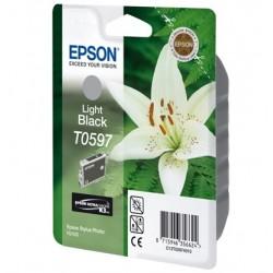 """Epson T0597 """"Lys"""" Cartouche d'encre Gris"""