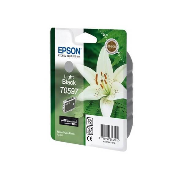 Consommable Epson T0597 'Lys' Cartouche d'encre Gris