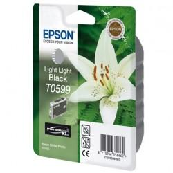 """Epson T0599 """"Lys"""" Cartouche d'encre Gris clair"""