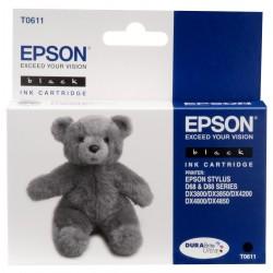 """Epson T0611 """"Ourson"""" Cartouche d'encre noir"""
