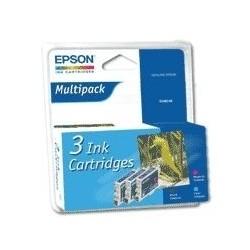 """Epson T0488C Triple pack """"Hippocampe"""" Pack Cartouche d'encre couleur"""