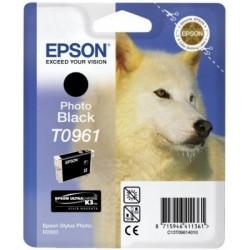 """Epson T0961 """"Loup"""" Cartouche d'encre noir"""