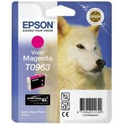 """Epson T0963 """"Loup"""" Cartouche d'encre Magenta"""
