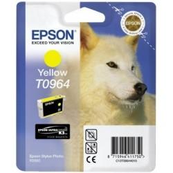 """Epson T0964 """"Loup"""" Cartouche d'encre Jaune"""