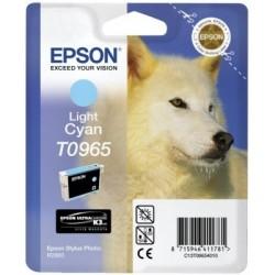"Epson T0965 ""Loup""Cartouche d'encre Cyan clair"