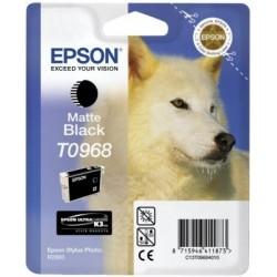 """Epson T0968 """"Loup"""" Cartouche d'encre Noir mat"""