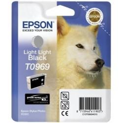"""Epson T0969 """"Loup"""" Cartouche d'encre Gris clair"""