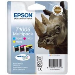 "Epson Multipack ""Rhinocéros"" (T1006) - Encres DURABrite Ultr"