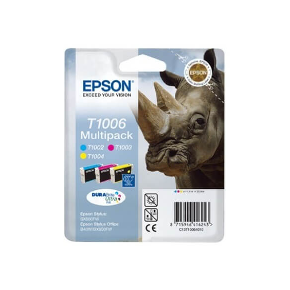 Consommable Epson Multipack 'Rhinocéros' (T1006) - Encres DURABrite Ultr