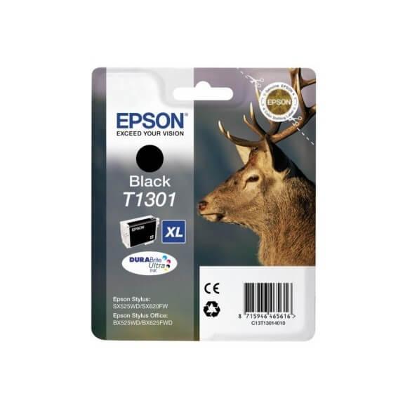 Consommable Epson T130 Cartouche d'encre Noir