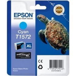 Epson T1572 Cartouche d'encre Cyan