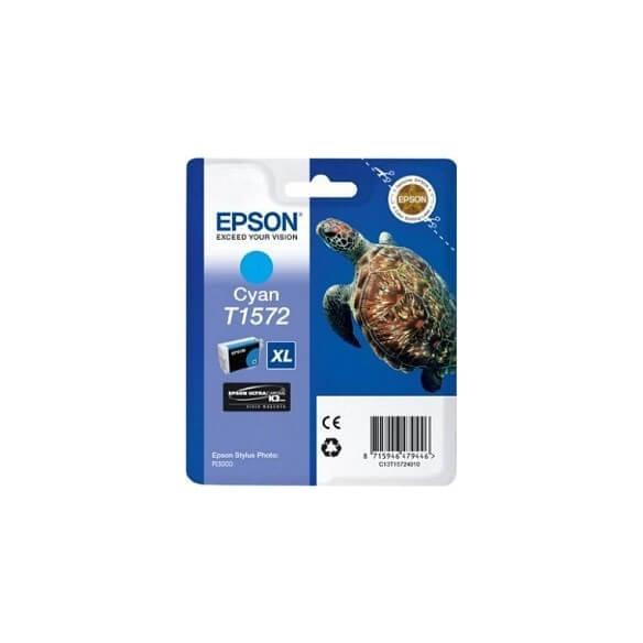 Consommable Epson T1572 Cartouche d'encre Cyan