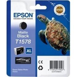 Epson T1578 Cartouche d'encre Noir Mat