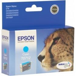 Epson T0712 Cartouche d'encre Cyan