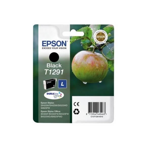 Consommable Epson T1291 Cartouche d'encre Noir