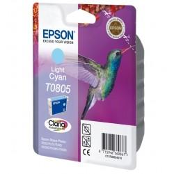 Epson T0805 Cartouche d'encre Cyan clair