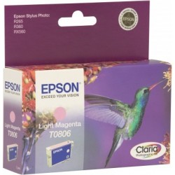 Epson T0806 Cartouche d'encre Magenta clair