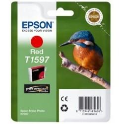 Epson T1597 Cartouche d'encre Rouge