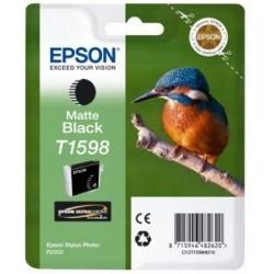 Epson T1598 Cartouche d'encre Noir mat